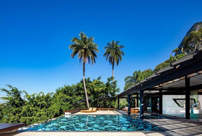 Rio003 - Contemporary house with pool in São Conrado