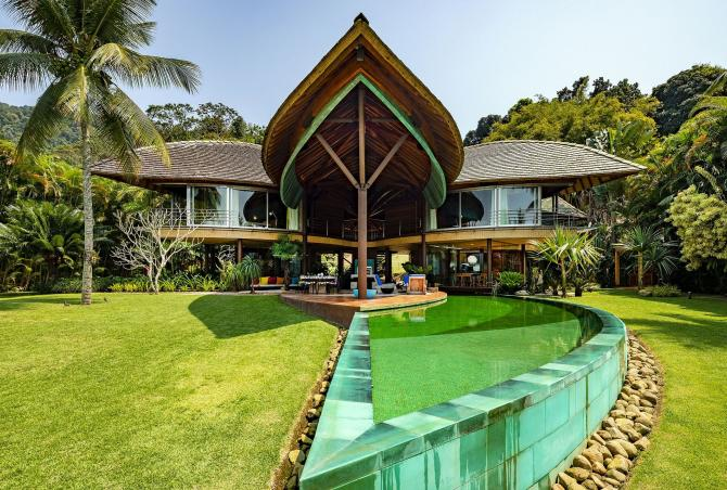 Ang001 - Luxurious villa by the sea in Angra dos Reis