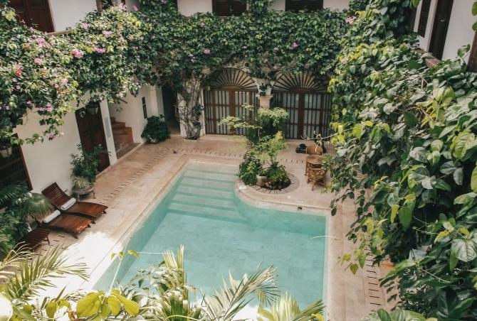 Car038 - Luxurious classic villa in Cartagena's old town