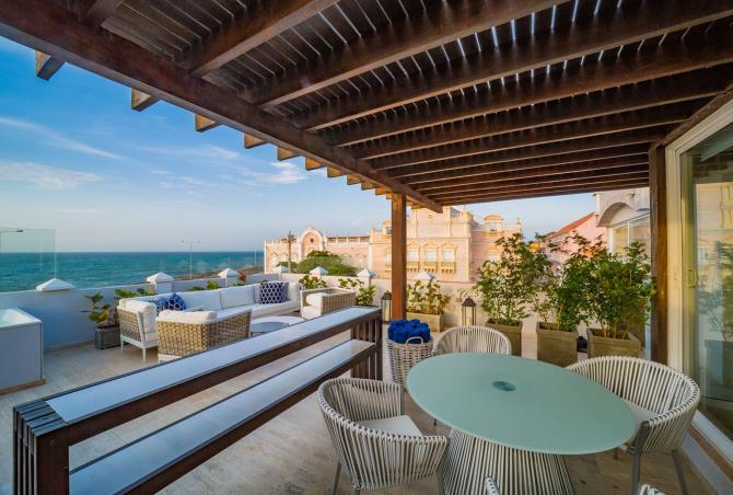 Car033 - Beautiful villa overlooking the Caribbean sea