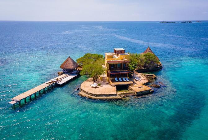 Car015 - Wonderful private island in Islas del Rosario