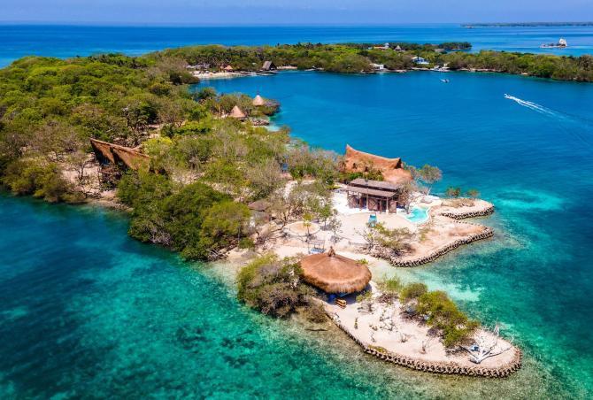 Car018 - Paradise island in Islas del Rosario, Cartagena