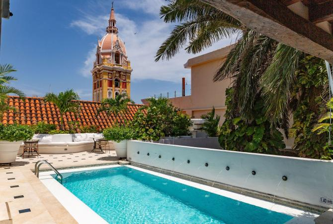 Car058 - Wonderful colonial house in the Old City, Cartagena