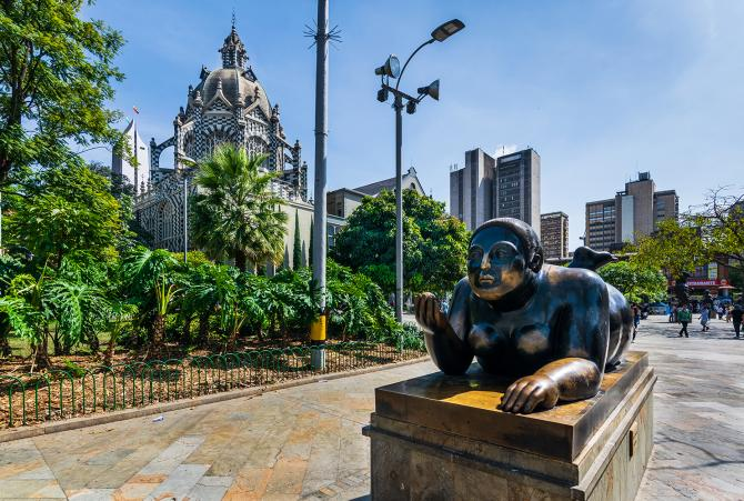 A brief history about Medellin