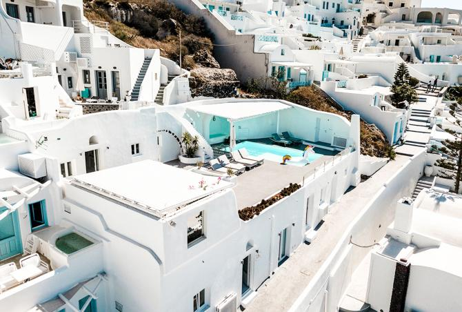 A brief history about Santorini